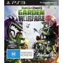 Plants Vs Zombies Garden Warfare Ps3 Nuevo Sellado