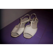 Sandalias Blancas Ideal Comunion