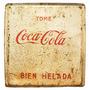 Antigua Placa Publicitaria Coca Cola