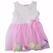 Vestido Princesa Infantil Menina Para Bebês Saia De Tule