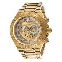 Relógio Invicta Subaqua Noma Sport 14737 Ouro 18k Com Caixa!