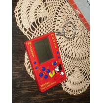 Game & Watch Mickey Mouse Key Chain Original Tetris (5183)