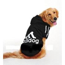 Moletom Adidog Cachorro Caes Grande Porte Labrador Golden