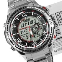 Relógio Casio Edifice Efa-121d Branco - Leia Descrição