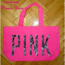Bolso Xl Fucsia Pink Palmeras Victoria