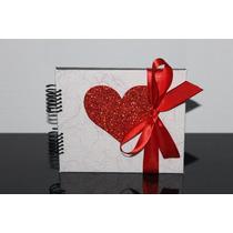 Álbum De Fotos Scrapbook Casal, Namorados, Bodas, Noivos