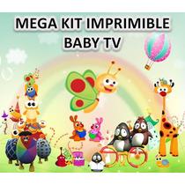 Mega Kit Imprimible Baby Tv