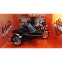 Sidecar Harley Davidson, Electra Glide 1998, Escala 1:18