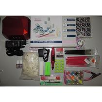 Kit Completo Gel Led/uv Profissional Pronta Entrega