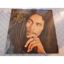 Lp Bob Marley - Legend Importado Zerado Capa Dupla R$ 280,00