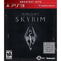 Ps3 Juego Skyrim Para Playstation 3, Nuevo Y Sellado.