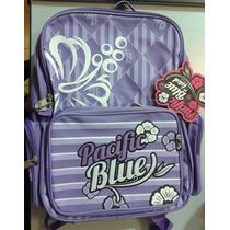 Mochilas Ls&d Pacific Blue - Gran Capacidad!! Varios Colores
