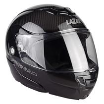 Casco Abatible Lazer Monaco Evo Pure Carbon Negro Talla Xl