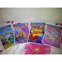 Bolsas Piñata Rapunzel Princesa Mariposa Party Ponquesitos