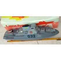 Lancha Patrulla Almirante Brown Control Remoto 60 Ctms.