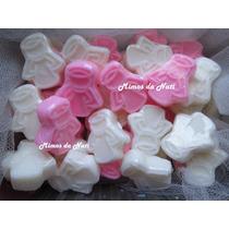 30 Mini Anjinhos De Sabonete Para Lembrancinhas