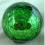 Esferas Craqueladas De Vidrio Soplado 25 Cms