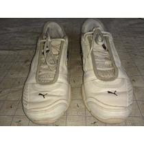 Zapatillas Puma Cuero Niño Usadas Muy Buenas Oferta