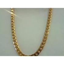 Cadena Collar 60cm X 8mm Oro Laminado 18k