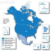 Mapa City Navigator Estados Unidos Mapsource Garmin Nuvi
