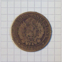 Patacon 2 Centavos 1882 La Mas Rara Linda