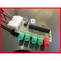 Kit De Eletrônica Para Montar Vu Meter De Leds Com Ci Ka2284