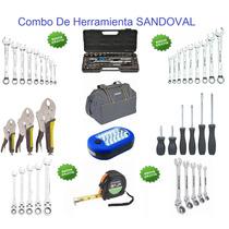 Combo De Herramientas Sandoval 40 Piezas Envio Gratis