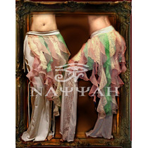Pollera Bucles Para Danza Arabe -belly Dance-