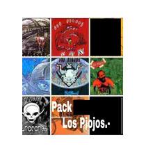 Pack 12 Unidades Los Piojos + Ciro. Discografia Completa.