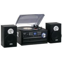 Toca-discos Cd Am E Fm Fita Cassete Caixas Jensen Jta-475