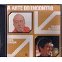 Cd - A Arte Do Encontro - Vinícius De Moraes E Chico Buarque