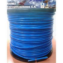 Cable Utp Cat6 Cat 6 100% Cobre 305m 4 Pares Interior Azul