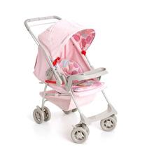 Carrinho Berço Bebê Milano Galzerano Rosa Bebê Lançamento