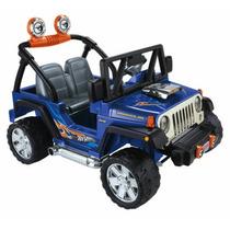 Jeep Wrangler Hot Wheels Power Wheels Niño Nuevo Bateria