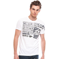 Polera Armani Exchange Maximum Logo Tree (ref. $66.000)