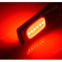 Led T10 Rojo Brillante Tuning Canbus Sin Error Autos Motos