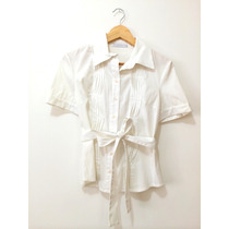 Camisa Branca Le Lis Blanc - Abaixou!!