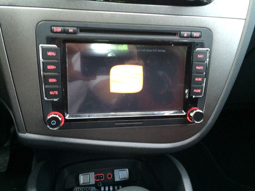seat leon fr altea radio original dvd gps android en mercado libre. Black Bedroom Furniture Sets. Home Design Ideas