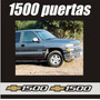 Kit Calcomanias Stikers 1500 Silverado Y Cheyenne