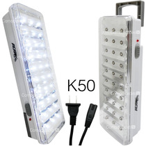 Kit 6 Lamparas Recargables 30 Leds Emergencia Luminario Port