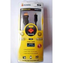 Cable Micro Hdmi A Hdmi + Varias Medidas + Originales