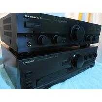 Amplificador Pioneer A207 Mos Technics Sansui Marantz