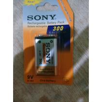 Bateria Recargable 9v Sony