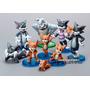 Tom Y Jerry -set X 9 Muñecos - Excelente Calidad -importado.