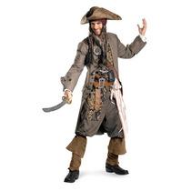 Disfraz Capitan Jack Sparrow Adulto Piratas De Caribe