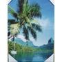 Cuadro Tipo Öleo Motivo Hermoso Paisaje Tropical
