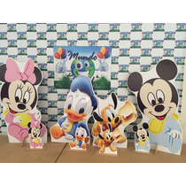 Kit Cenário Display Chão Baby Disney 4 Peças.mdf3mm,painel