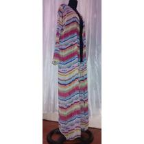 Kimonos Extra Largos De Gasa,talles Grande