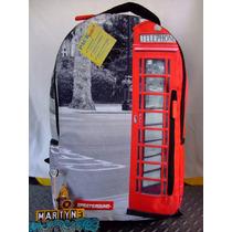 Mochila Sprayground Cabina Telefono London Series Importada