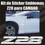 Kit Calcomanias Stickers Z28 Para Camaro
